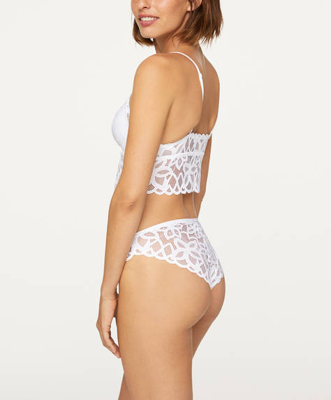 Abstract lace classic briefs