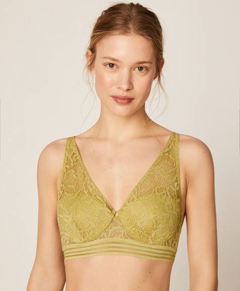Brasier halter allover raya