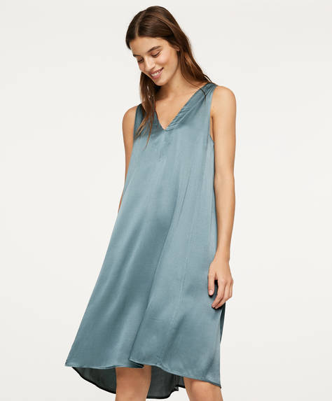 Green nightdress