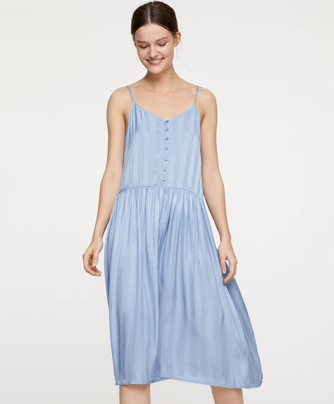 Striped blue nightdress