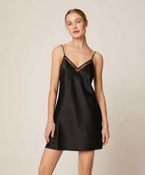 Mini strappy nightdress