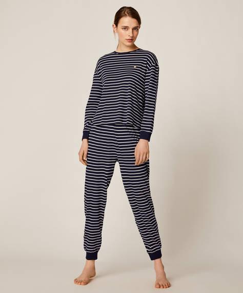 Breton stripe trousers