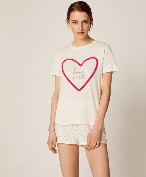 Mini-heart shorts