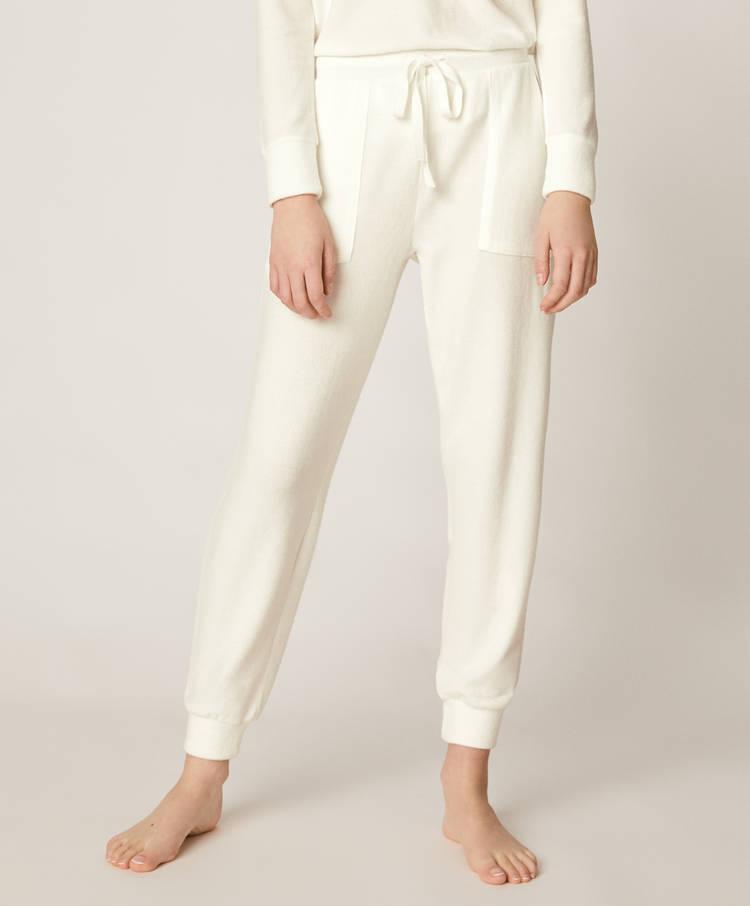 Pantalón blanco tacto suave - 2