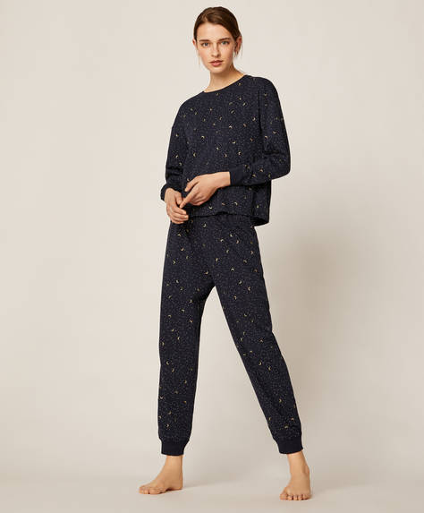 Moon dot trousers