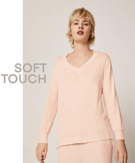 Soft touch jumper