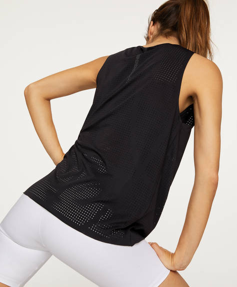 Technical vest top