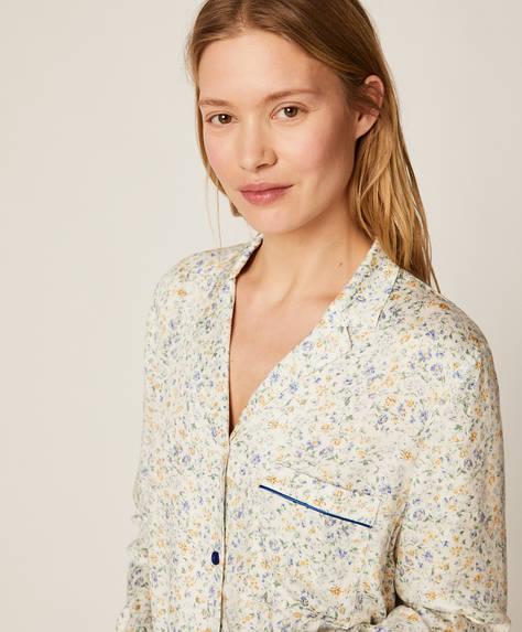 Camisa com florzinhas