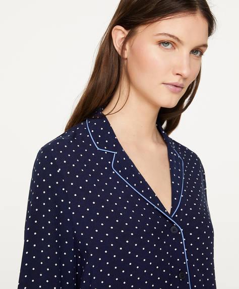 Camisa topo navy