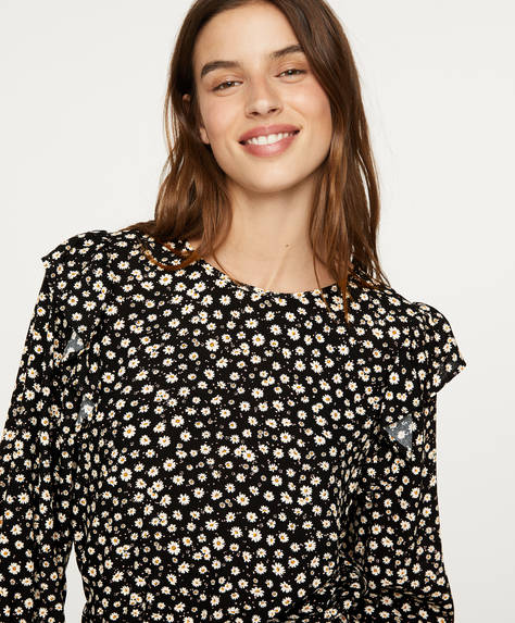 Blouse marguerites
