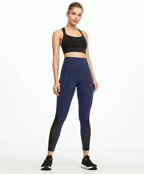 Colour block shapewear leggings