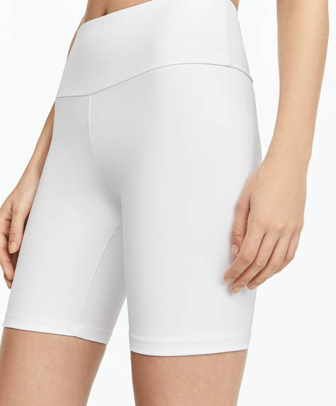 Compression cycling shorts