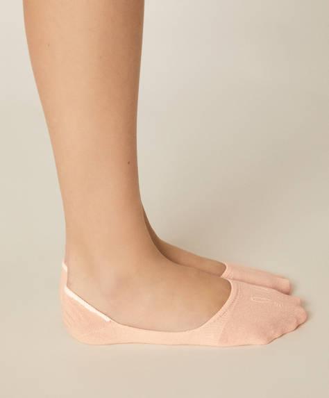 3 perechi de șosete tip tălpici cu fețișoare