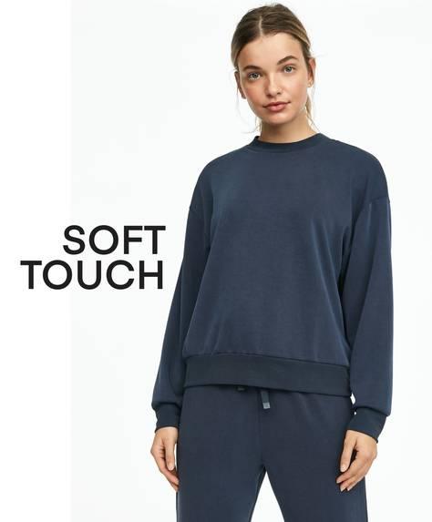 Sweatshirt aus weichem Stoff