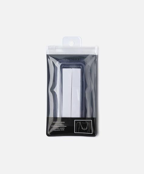 Adhesive neckline tape