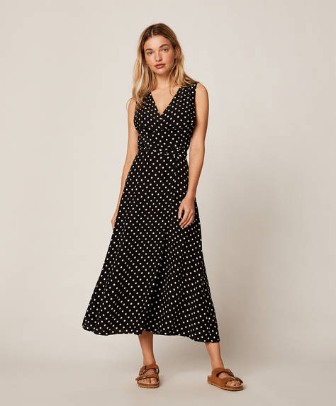 Medium polka dot dress