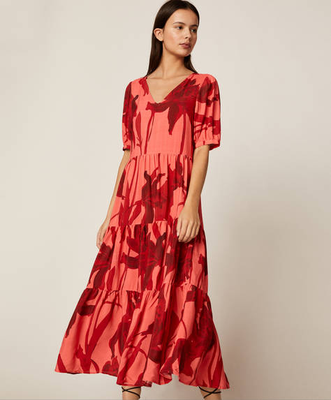 Langes romantisches Kleid