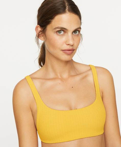 Total colour bikini top