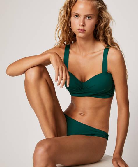 Classic ruched bikini briefs