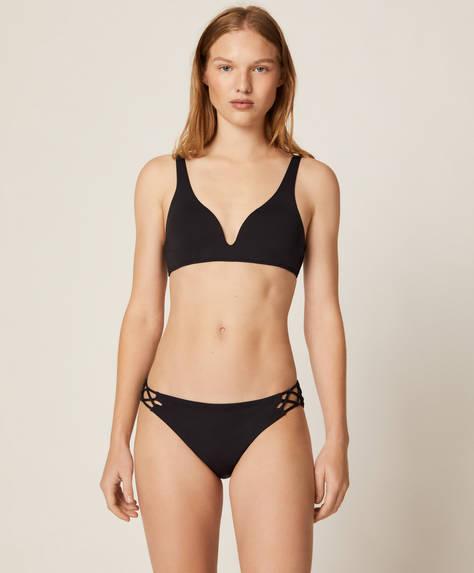 Knot hipster bikini briefs