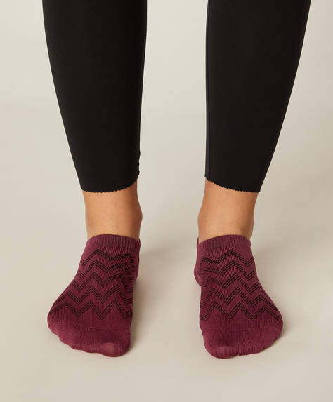 3 pairs of seamless footsie sports socks