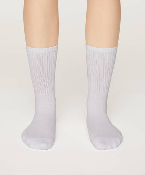 2 pairs of cotton-rich sports socks