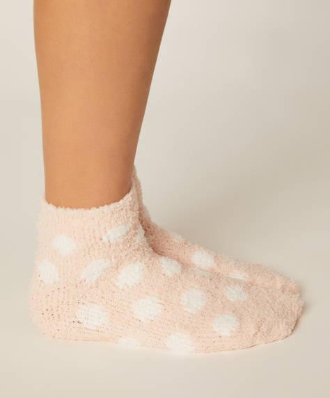 2 çift bilek boyu polar çorap
