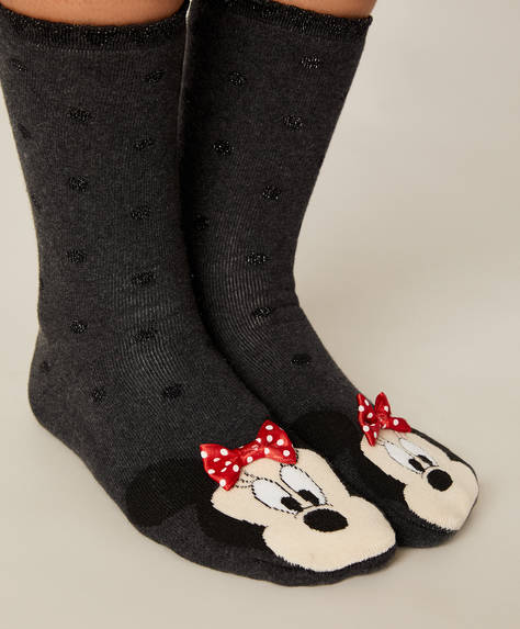 Anti-slip Minnie© socks