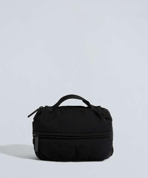 Rounded nylon wash bag