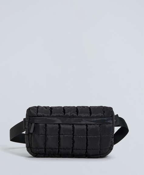 Black yoga mat carrier belt bag