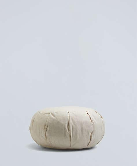 Zafu natural meditation cushion
