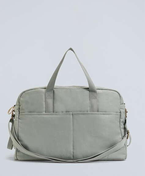 Canvas maternity bag