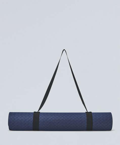 Blue 5mm yoga mat