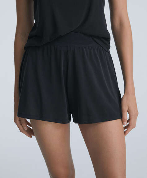 Soft-touch shorts
