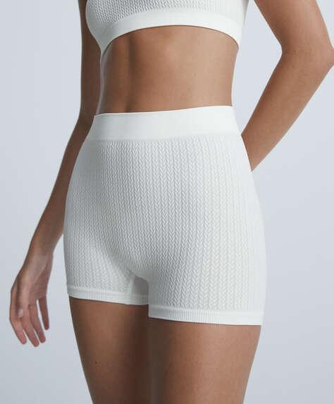 Seamless herringbone shorts