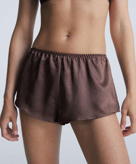 Shorts satén
