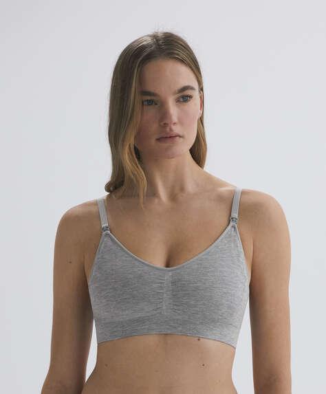 Seamless maternity top