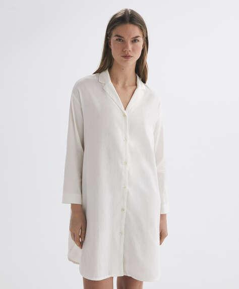 100% cotton midi nightdress