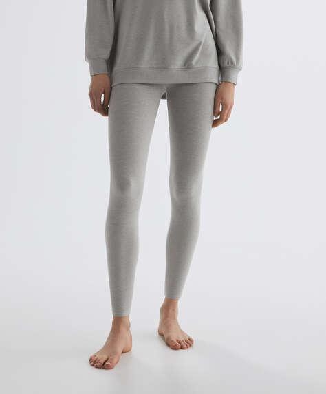 Viscose ankle-length leggings