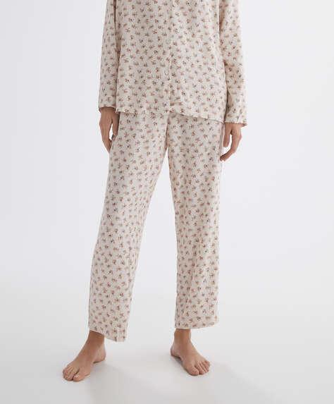 Print trousers.