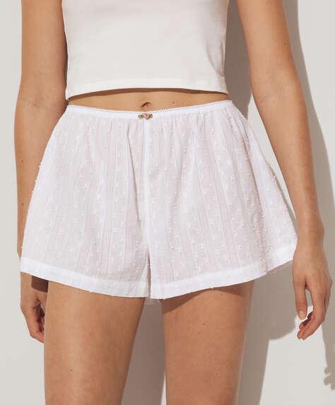 100% plumeti cotton shorts