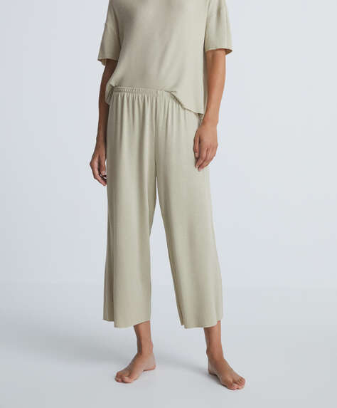 Soft touch triangle trousers