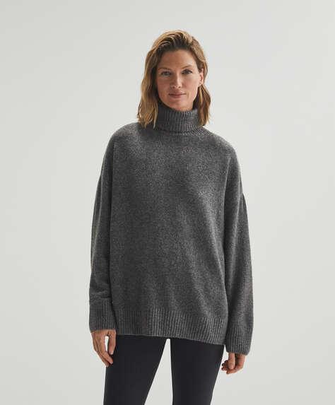 Maglia a collo alto tricot