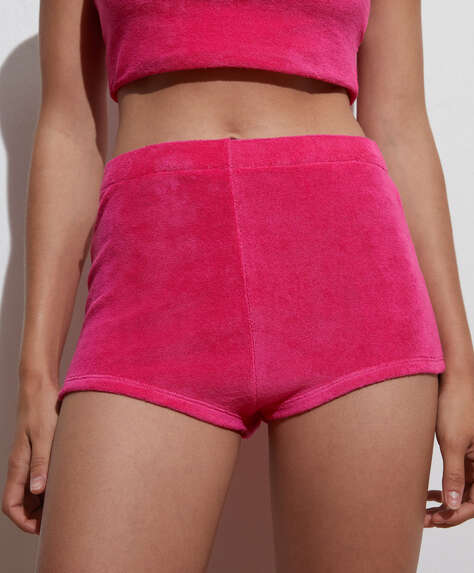 100% cotton terry shorts