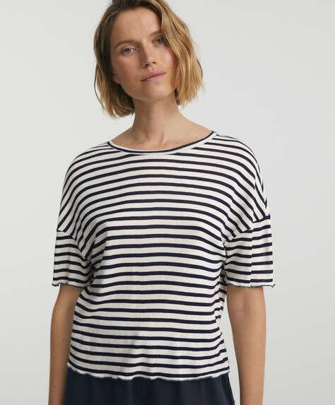 Sailor short-sleeved T-shirt
