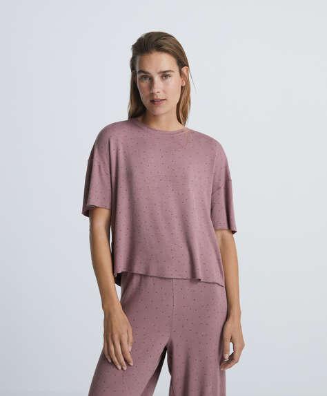 Soft touch star short-sleeved T-shirt