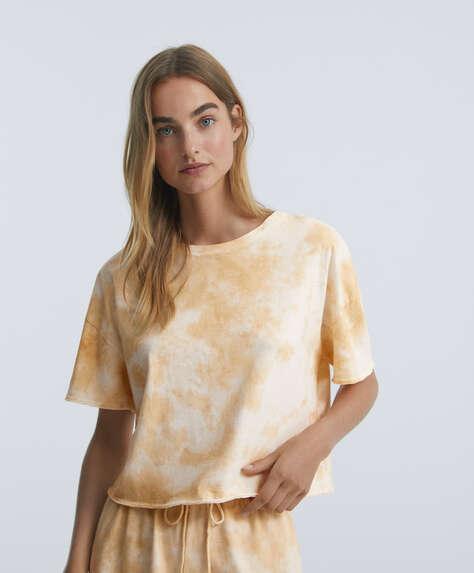Camiseta corta tie dye 100% algodón