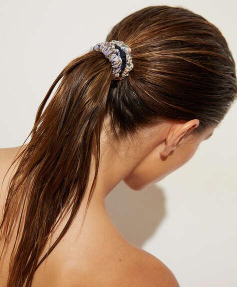 5 printed scrunchies