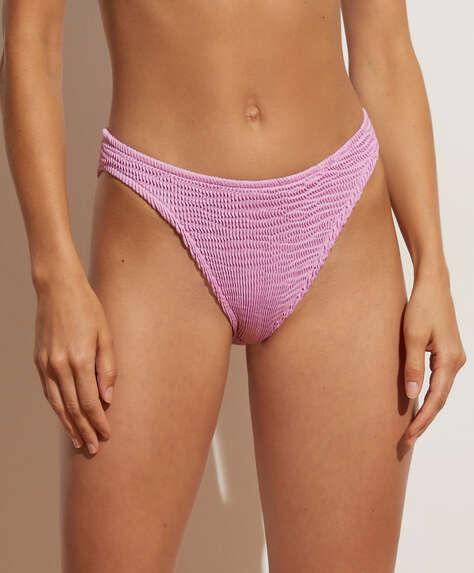 Crinkled classic bikini briefs