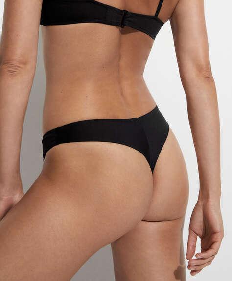 V-cut thong bikini briefs